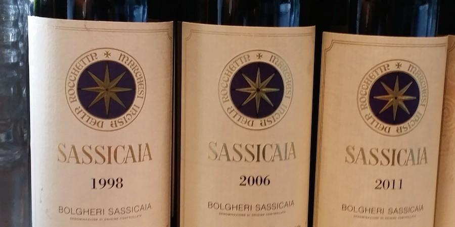 Sassicaia – etiketrytteri for fuld skrue