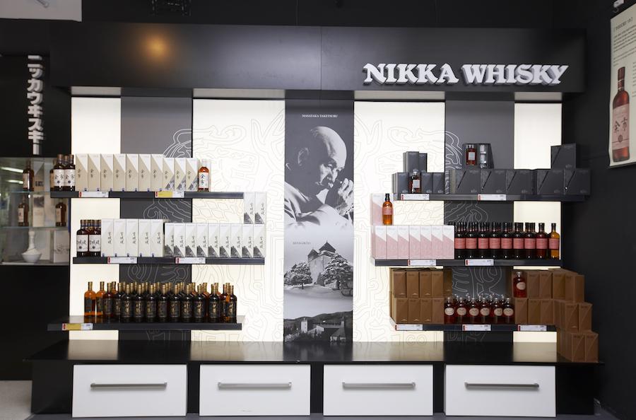 Bordershop Puttgarden er også skarpe på japansk whisky.