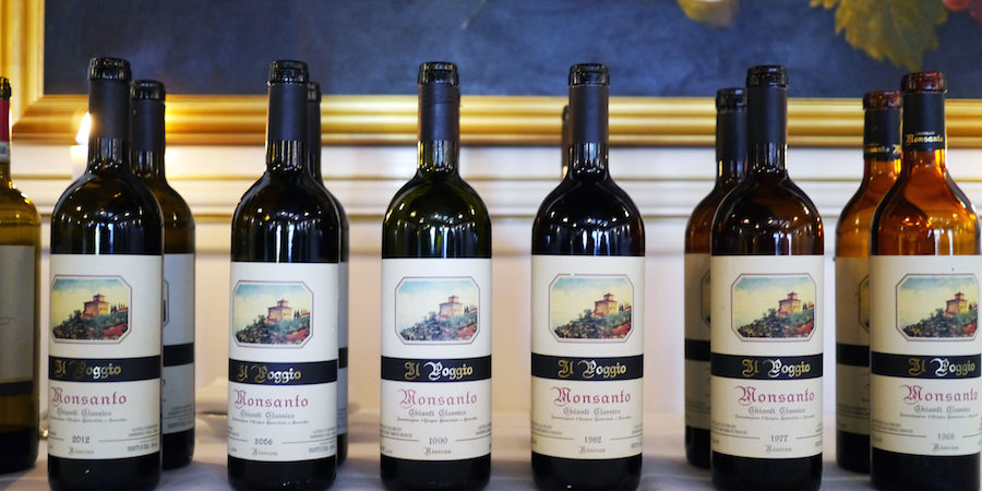 Smagning af Il Poggio fra Castello di Monsanto – bliver vinen smukkere med alderen?