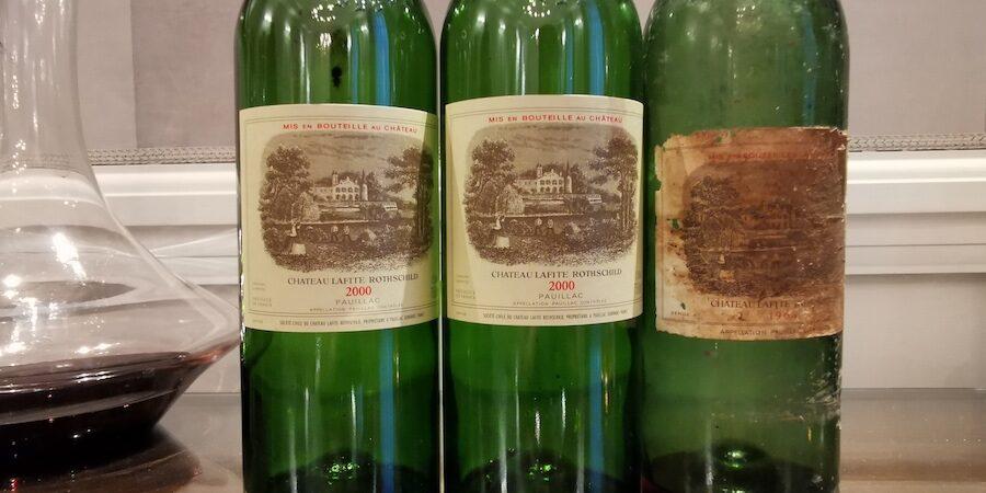 Chateau Lafite Rothschild – smagning af 2000 og 2010