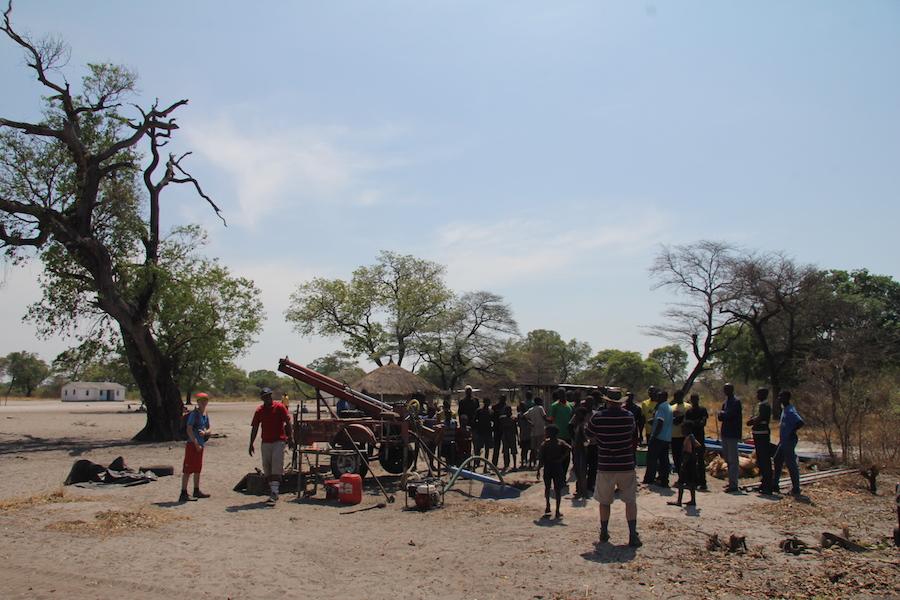 Det er brønde som disse, Vin med Hjerte ønsker at opføre for de penge, de genererer via salget af vin. Foto: The Zambia Project.