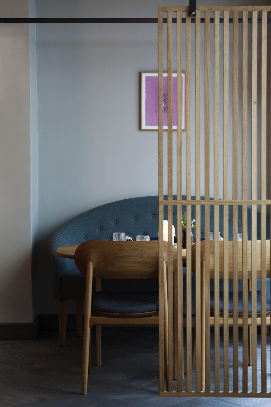 Indretning på Kadeau København hører til i referencerammen blandt danske restauranter. Foto: Marie Louise Munkegaard.