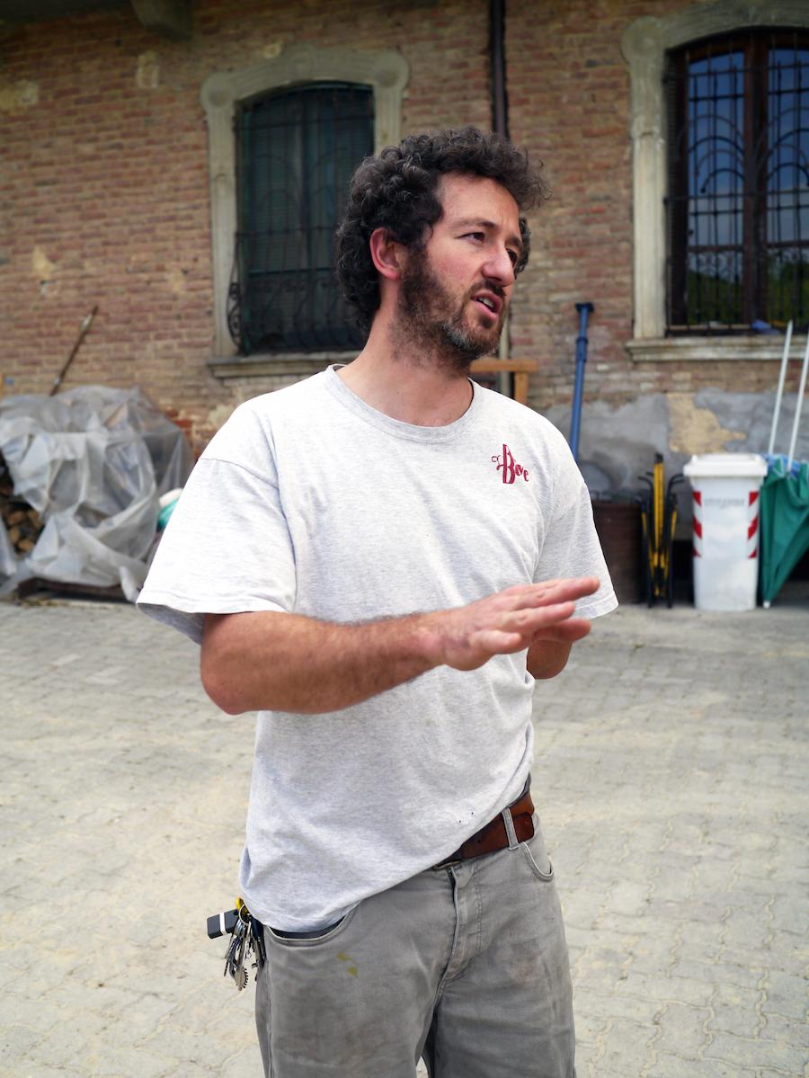 Luca Faccenda laver biodynamisk vin i appellationen Roero.