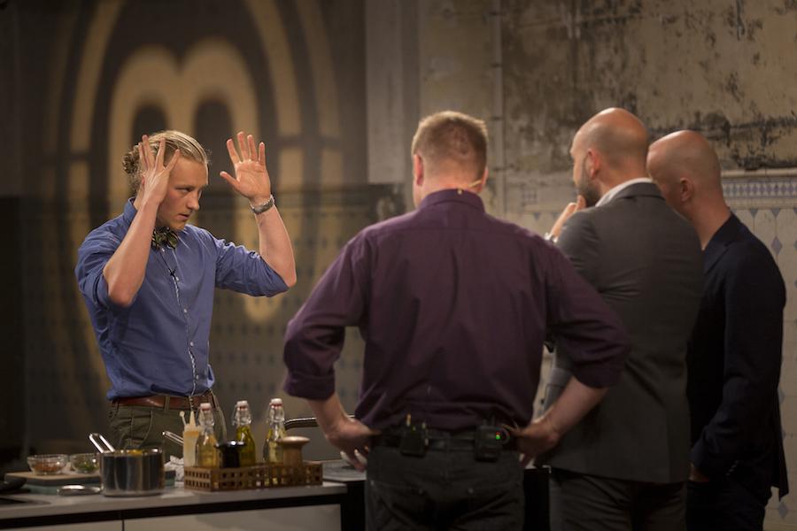 Der historiefortælles for fuld skrue. Foto: TV3/MasterChef.