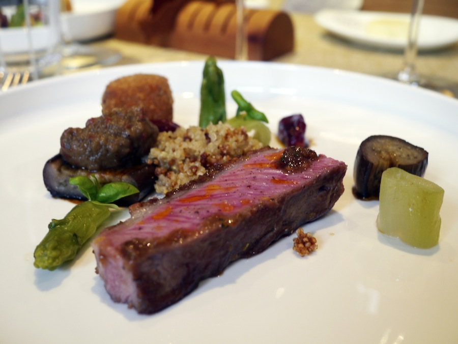 A perfect lamb dish with huge amounts of intense flavours.