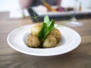Vine til de friske råvarer – kartofler, asparges og rabarber
