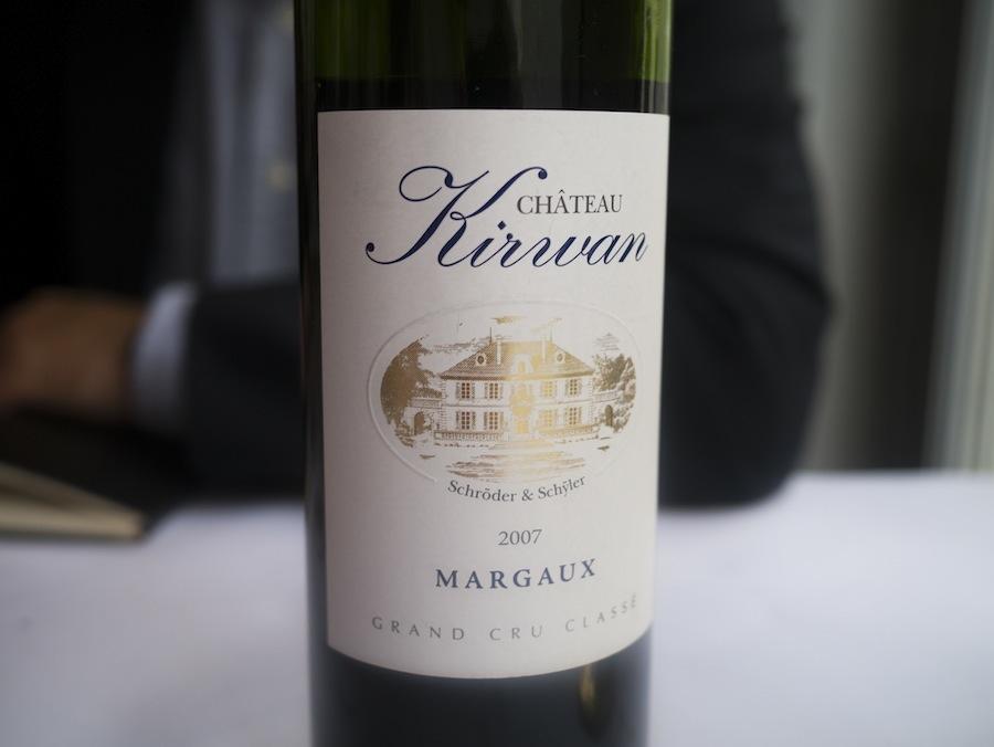 Grand cru classé fra Margaux - fuldstændig i tråd med den klassiske ånd på Mefisto.