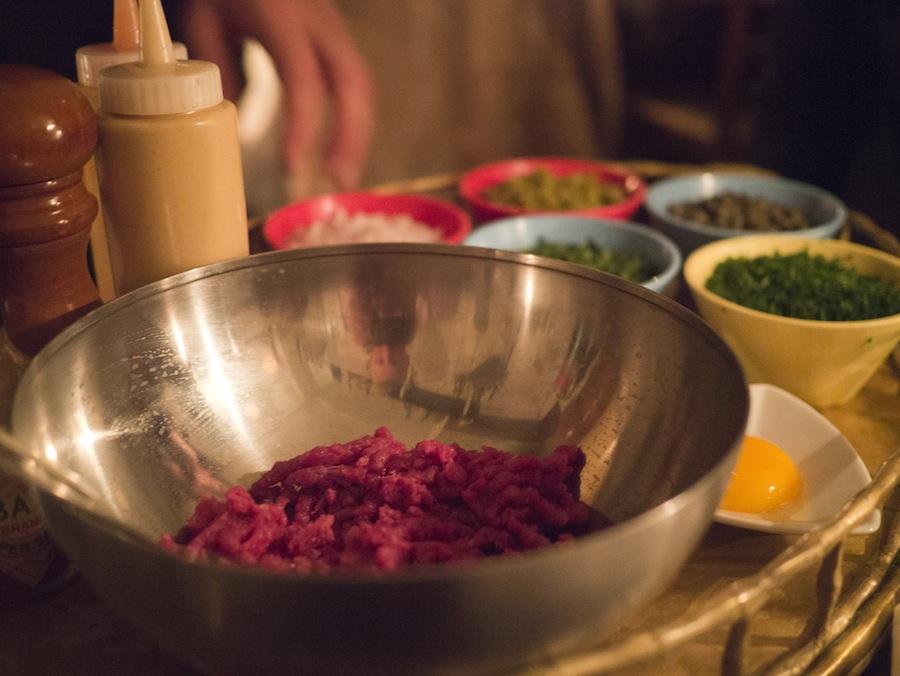 Det er sjældent, at en tatar røres ved bordet, og det er en skam.