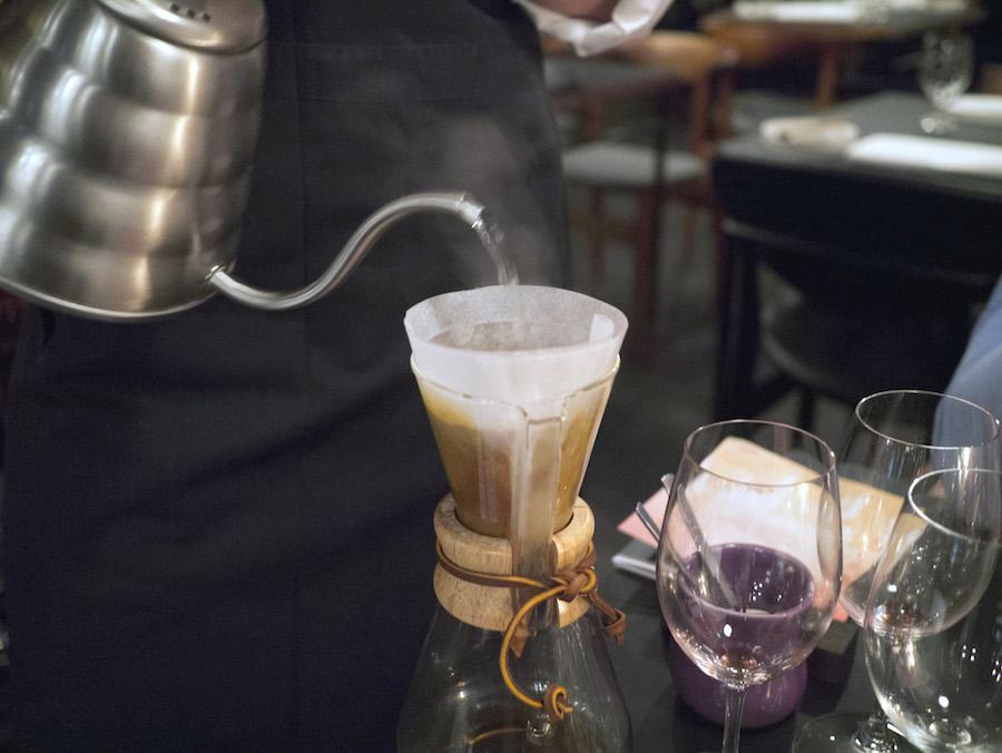 At Nordisk Spisehus er begyndt at tage kaffen alvorligt, er i mine øjne en meget stærk indikation på, at restauranten vil mere end at være en blød mellemvare i Aarhus.