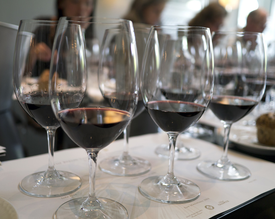 Rødvinene fra Errazuriz kan med fordel drikkes af bordeauxglas.