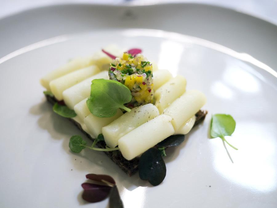 Vindermaden til Samsøs bedste kartoffelmad 2014 fra Restaurant SAK blev enstemmigt kåret af dommerpanelet som konkurrencens bedste.
