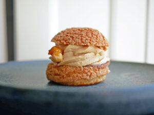 Seneste vidunder fra Juno the Bakery- choux au craquelin med hasselnød og chokolade