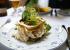 En dejlig mayonnaisecremet hønsesalat, der ikke lod meget tilbage at ønske.