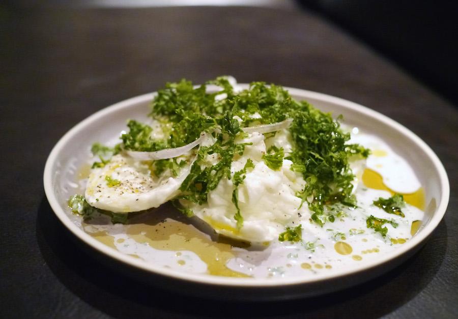 Dejlig mozzarella, der dog kunne have tålt en anelse mere af den gode olivenolie.