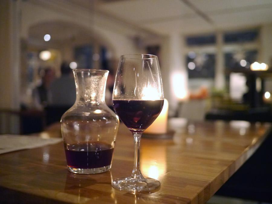 Glögg med biodynamisk vin - jeg er fan.