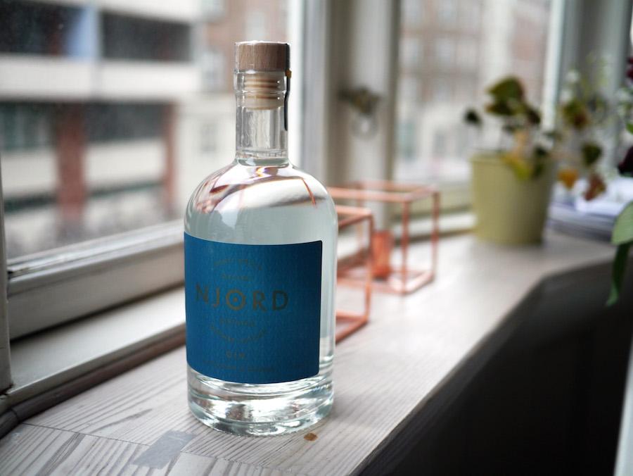 Njord er en spændende ny gin fra Danmark.
