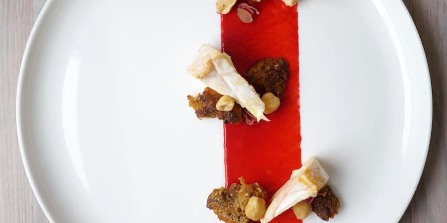 Arla Unika Rød Løber, hindbær og peanuts