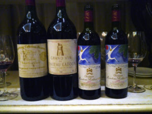 1982 bordeaux på Marchal – vinsmagning deluxe
