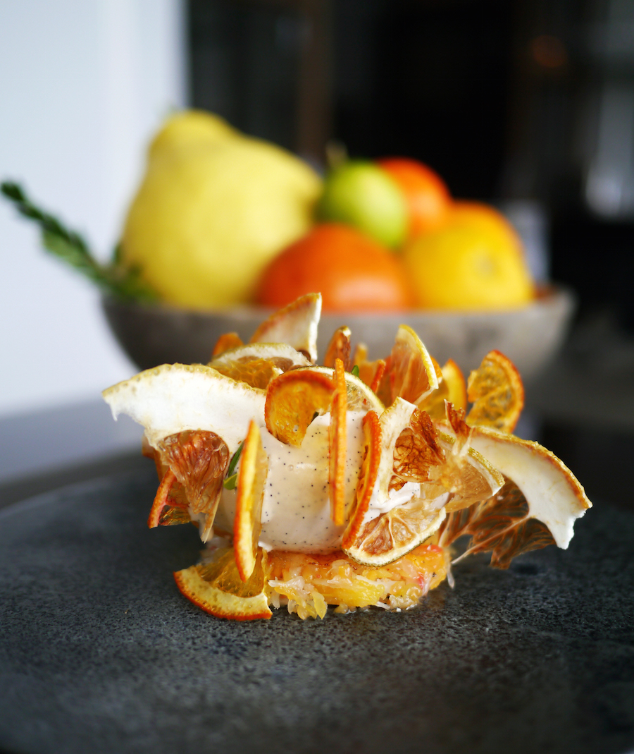 En genial formidling af citrusfrugter på Marchal.