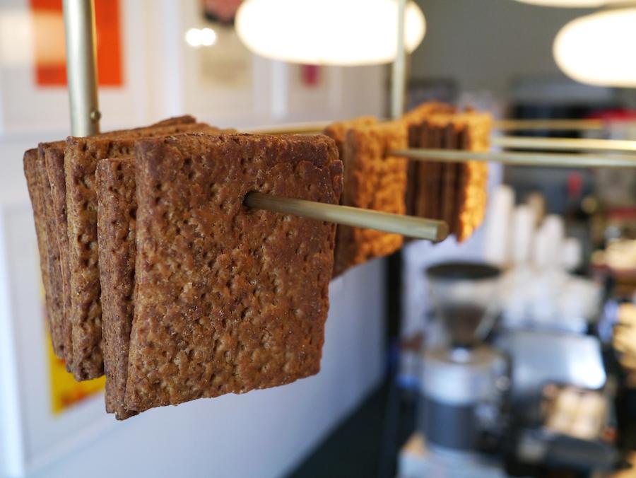 Knækbrødet er stangvare på Prolog Coffee Bar, dog kun i ganske bogstavelig forstand.
