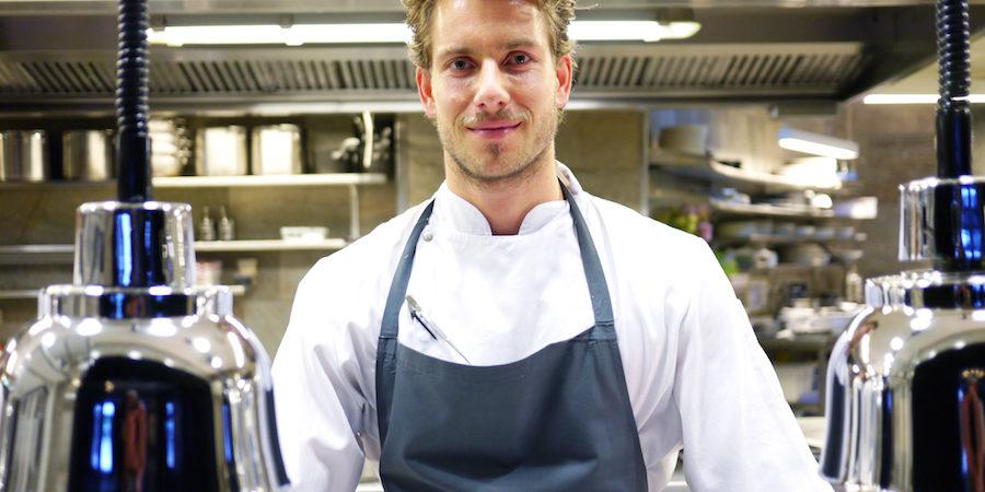 Hotel d'Angleterres nye køkkenchef på Marchal imponerer