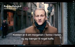 Video – på opdagelse i Torinos kaffekultur med Lavazza