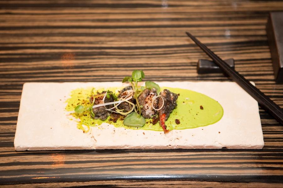 Sorthummer i tempura - velsmag af den bedste slags.