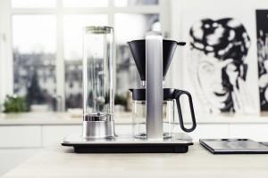 Wilfa Svart presisjon sikrer den sublime filterkaffe