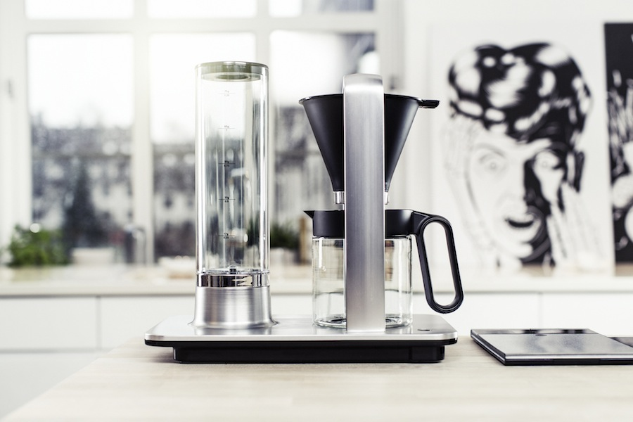 Wilfa svart presisjon kaffe maskin