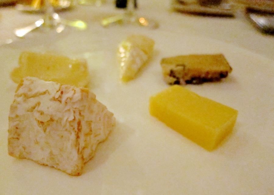 Fire danske oste og én svensker.