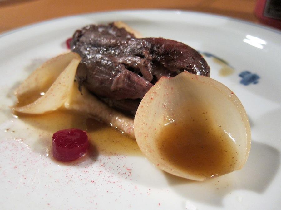 kødsovs med kartoffelmos i ovn
