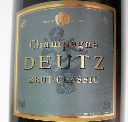 Knivskarp, klassisk champagne på andenpladsen.