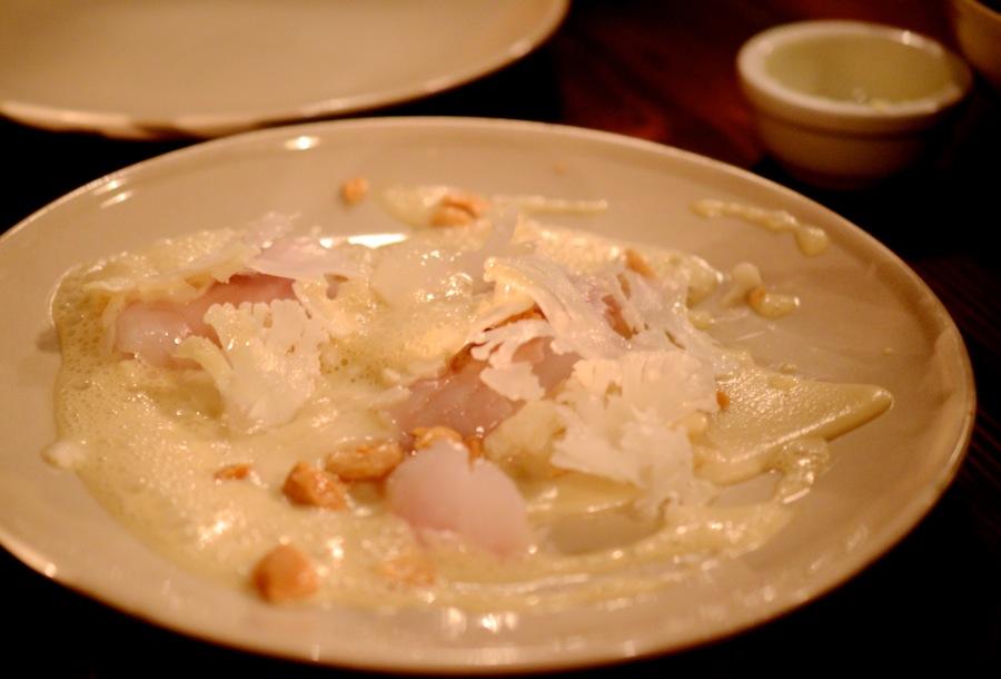 Rimmet torsk med blomkål og mandler - ren velsmag og dejlig tekstur.