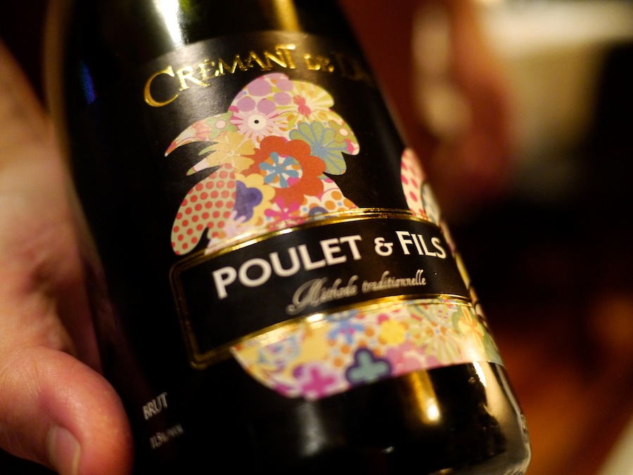 Fin etikette, fin vin.