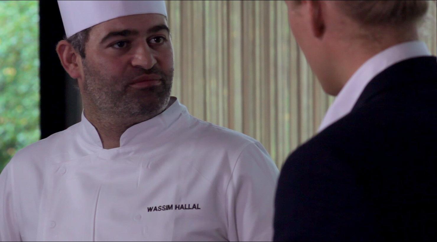 I dag får du serveret næsten en halv times guldkorn fra en af landets bedste kokke, Wassim Hallal.